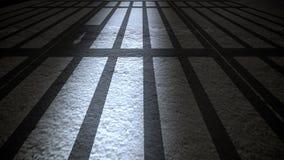 Het binnenland van de gevangenis Stock Fotografie