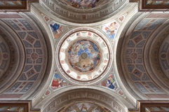 Het binnenland van de kathedraal Stock Afbeelding