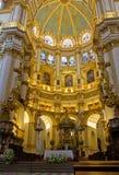 Het binnenland van de kathedraal, Granada, Spanje royalty-vrije stock afbeelding