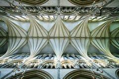 Het Binnenland van de Kathedraal van Lincoln Stock Afbeeldingen
