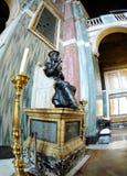 Het binnenland van de Kathedraal van Westminster Stock Foto's