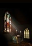 Het Binnenland van de kerk Royalty-vrije Stock Afbeelding