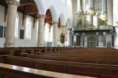 Het binnenland van de kerk. Stock Afbeelding