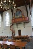 Het binnenland van de kerk. Stock Fotografie
