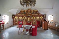 Het binnenland van de kerk Stock Fotografie