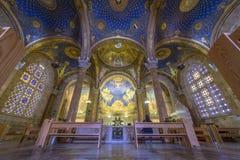Het binnenland van de Kerk van Al Natiesbasiliek van de Ondraaglijke pijn royalty-vrije stock foto's