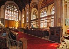 Het Binnenland van de Kerk van Cromer Royalty-vrije Stock Afbeeldingen