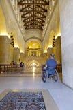 Het Binnenland van de Kerk van de rolstoel Stock Foto