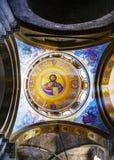 Het binnenland van de Kerk van Heilig begraaft royalty-vrije stock foto's