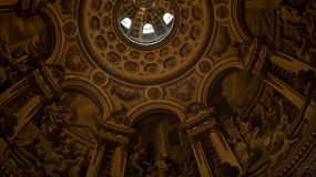 Het binnenland van de kerk van St Paul in Londen, Kathedraal Royalty-vrije Stock Afbeelding