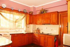 Het binnenland van de keuken Royalty-vrije Stock Foto's