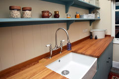 Het binnenland van de keuken Royalty-vrije Stock Foto