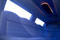 Het binnenland van de limousine Royalty-vrije Stock Afbeeldingen