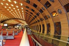 Het binnenland van de luchthaven Royalty-vrije Stock Afbeelding