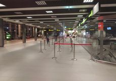 Het binnenland van de luchthaven Royalty-vrije Stock Afbeeldingen