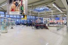 Het binnenland van de luchthaven Royalty-vrije Stock Foto's