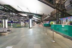 Het binnenland van de luchthaven Stock Foto