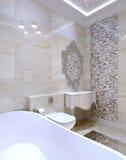 Het binnenland van de luxebadkamers Stock Foto's
