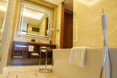 Het binnenland van de luxebadkamers Royalty-vrije Stock Fotografie