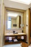 Het binnenland van de luxebadkamers Royalty-vrije Stock Foto