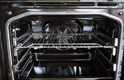 Het binnenland van de oven royalty-vrije stock fotografie