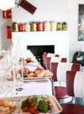 Het binnenland van de restaurantbar Royalty-vrije Stock Afbeeldingen