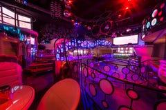 Het binnenland van de ruimten van de nachtclub Pacha royalty-vrije stock foto