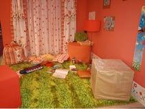 Het binnenland van de speelkamer stock foto