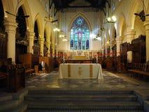 Het binnenland van de St John Kathedraal, in 1849 dit wordt gebeëindigd is de oudste Anglicaan die stock foto's