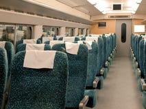 Het binnenland van de trein Royalty-vrije Stock Afbeeldingen