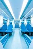 Het binnenland van de trein Royalty-vrije Stock Foto