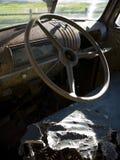 Het Binnenland van de Vrachtwagen van Grunge Stock Fotografie