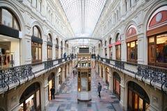 Het binnenland van de winkel   stock afbeeldingen