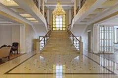 Het binnenland van de zaal royalty-vrije stock afbeelding