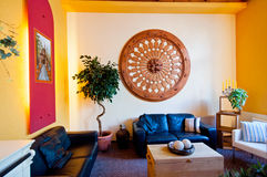 Het Binnenland van de zitkamer Royalty-vrije Stock Afbeeldingen