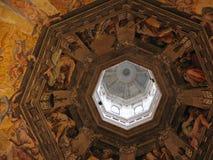 Het binnenland van Duomo Stock Foto