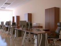 Het binnenland van het bureau Stock Fotografie