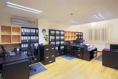 Het binnenland van het bureau Royalty-vrije Stock Afbeeldingen