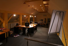 Het Binnenland van het bureau Royalty-vrije Stock Foto's