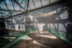 Het binnenland van het Gebouw van het Oosten bij het National Gallery van Art. Royalty-vrije Stock Afbeelding