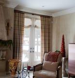 Het Binnenland van het huis: Gordijn Stock Foto's