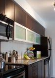 Het Binnenland van het huis: Keuken Stock Fotografie