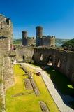 Het binnenland van het kasteel Royalty-vrije Stock Foto's