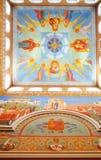 Het binnenland van het klooster van de Patriarch in Yekaterinburg Royalty-vrije Stock Afbeelding