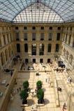 Het binnenland van het Louvremuseum Royalty-vrije Stock Afbeelding