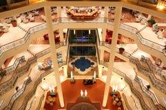 Het binnenland van het luxehotel. Royalty-vrije Stock Afbeeldingen
