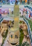 Het Binnenland van het Medellinwinkelcomplex stock fotografie