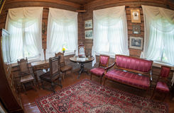 Het binnenland van het museum Suvorov Royalty-vrije Stock Afbeelding