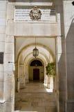 Het binnenland van het paleis Pontius Pilate, jerusa Royalty-vrije Stock Foto