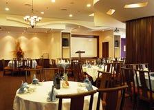 Het binnenland van het restaurant royalty-vrije stock fotografie